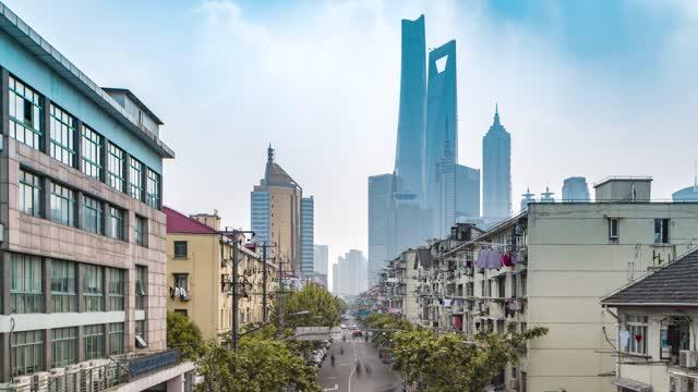 上海_上海三件套_栖霞路_上海地标