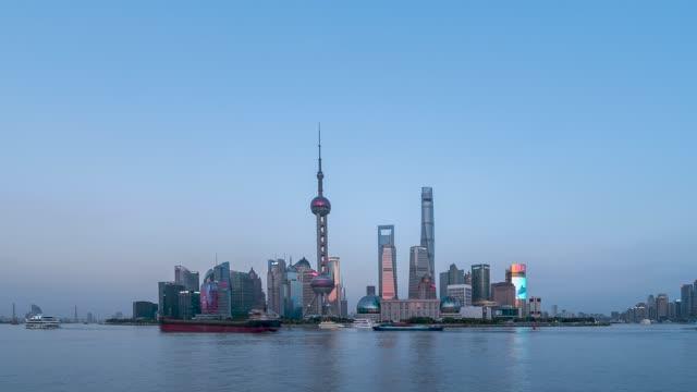 上海_上海CBD_日转夜
