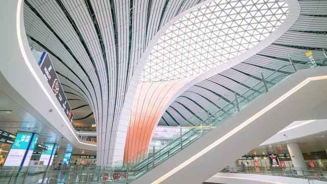 北京_大兴机场内_国内登记口