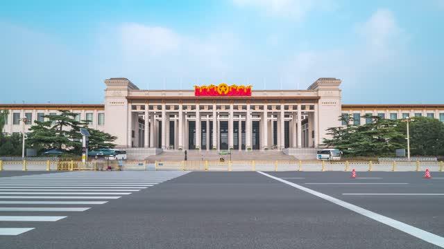北京_中国国家博物馆_博物馆出入口