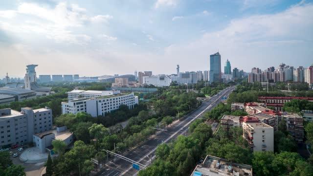 北京_安定路_鸟巢国家体育馆_奥林匹克塔