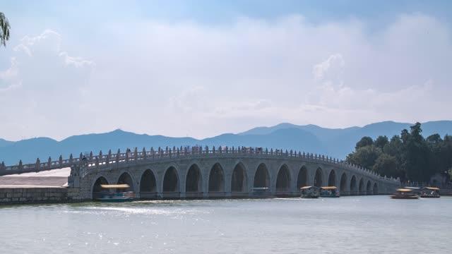 北京_十七孔桥_颐和园