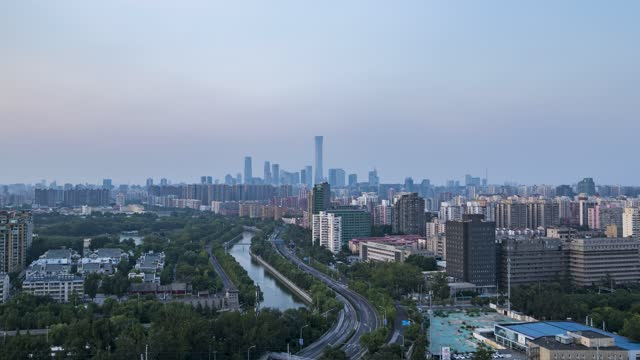 北京_北京CBD_护城河_中国尊