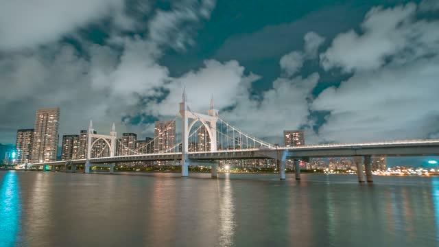 珠海_白石桥_夜景