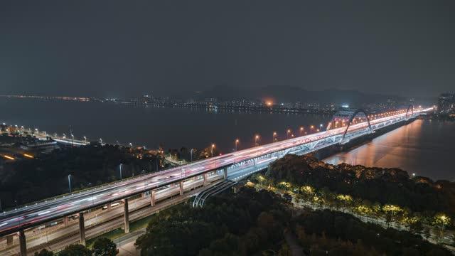 杭州_复兴大桥_夜景