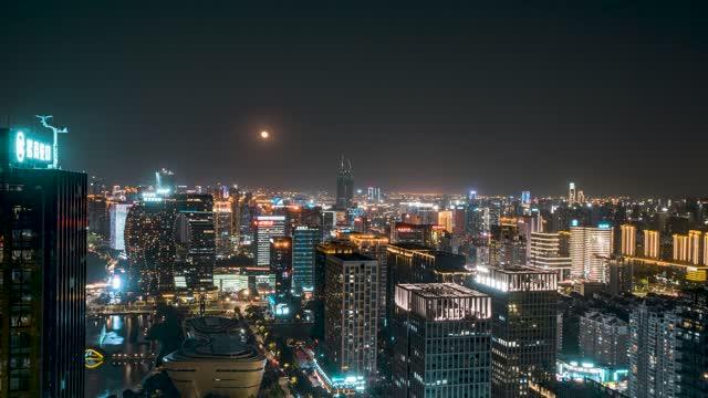 杭州_滨江区夜景_低碳科技园_夜景