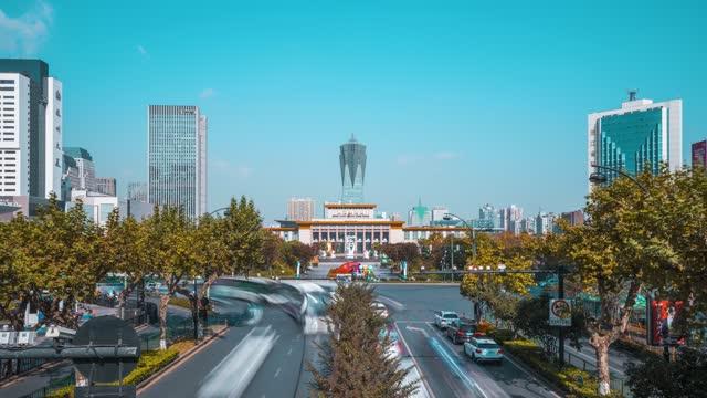杭州_武林广场_浙江展览馆_体育场路