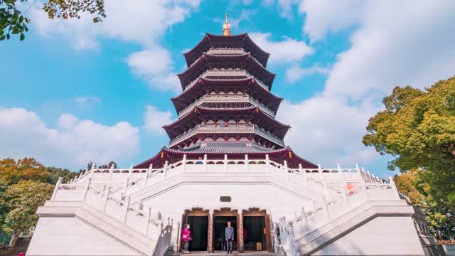 杭州_雷峰塔入口
