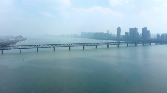 杭州_钱塘江大桥_航拍合集